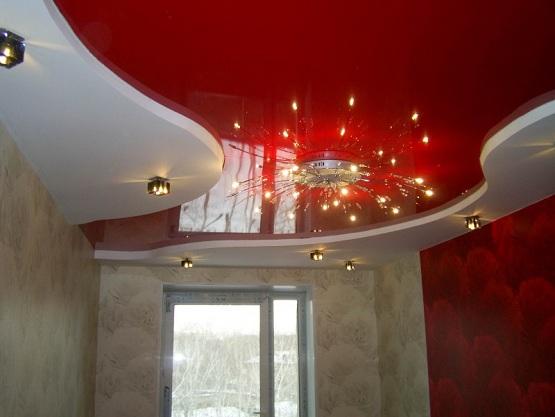 Натяжной потолок. Примеры работ от «Студия Комфорта»